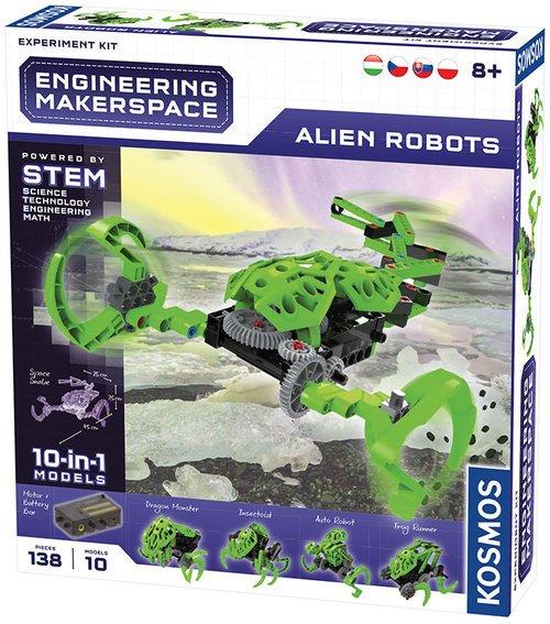 Makarspace Alien Robots - zdjęcie zabawki, gry
