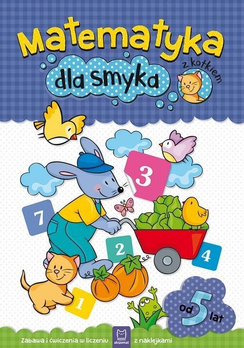 Matematyka dla smyka z kotkiem - okładka podręcznika