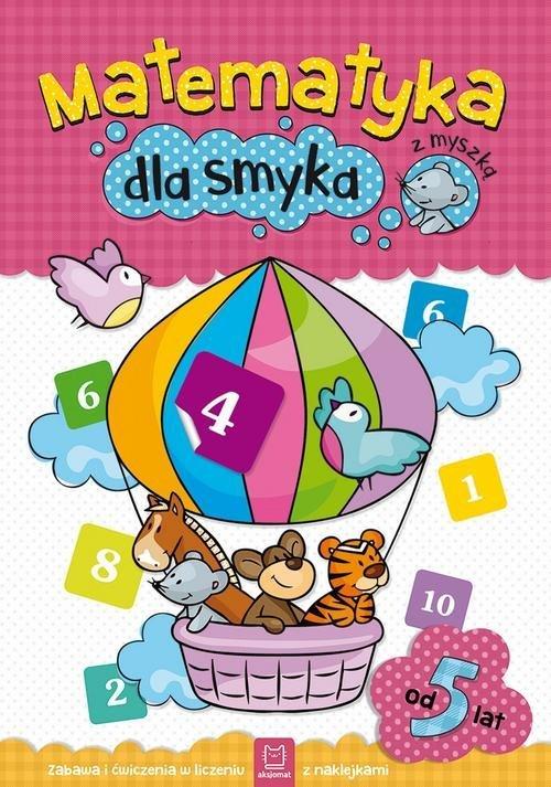 Matematyka dla smyka z myszką - okładka podręcznika