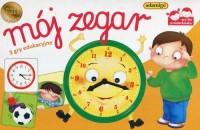 Mój zegar. 3 gry edukacyjne - zdjęcie zabawki, gry