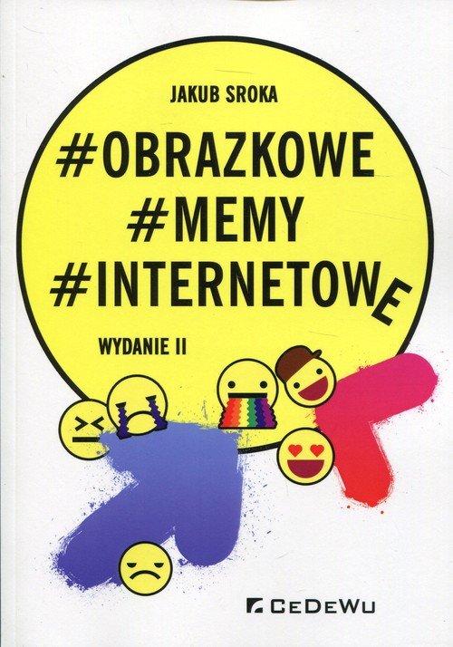 Obrazkowe memy internetowe - okładka książki