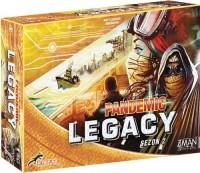 Pandemic Legacy (Pandemia) - Sezon 2 - Edycja żółta - zdjęcie zabawki, gry
