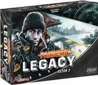 Pandemic Legacy Sezon 2 edycja czarna - zdjęcie zabawki, gry