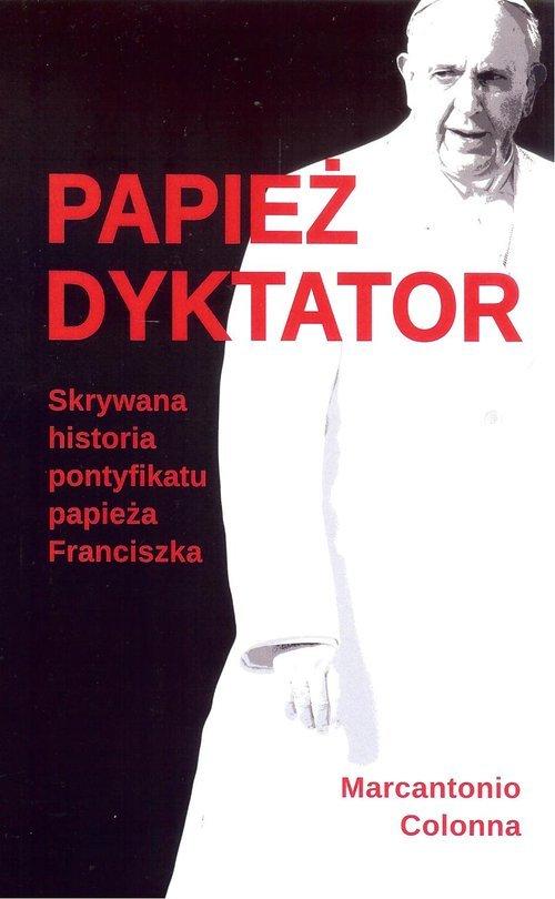 Papież dyktator - okładka książki