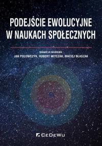 Podejście ewolucyjne w naukach społecznych - okładka książki