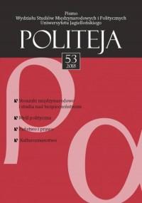 Politeja nr 53/2018 - okładka książki