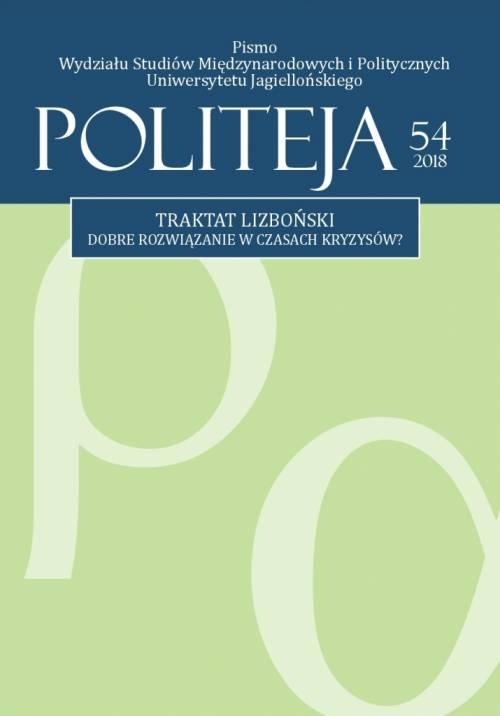 Politeja nr 54/2018 - okładka książki