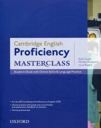 Proficiency Masterclass Students Book with Online Skills - okładka podręcznika