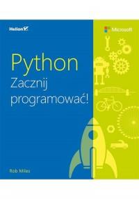 Python. Zacznij programować - okładka książki