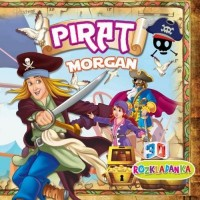 Rozkładanka 3D. Pirat Morgan - okładka książki