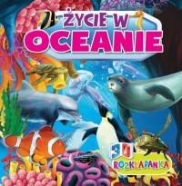 Rozkładanka 3D. Życie w oceanach - okładka książki