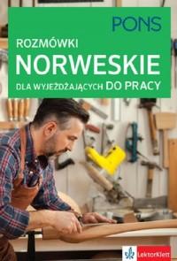 Rozmówki norweskie dla wyjeżdżających do pracy - okładka podręcznika