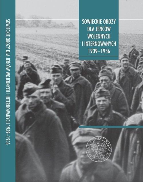 Sowieckie obozy dla jeńców wojennych - okładka książki
