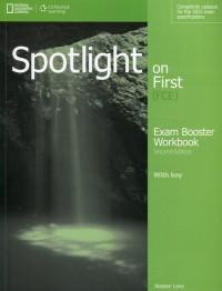 Spotlight on First Exam Booster Workbook (+ 2CD) - okładka podręcznika