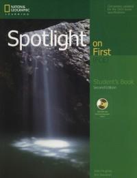 Spotlight on First Students Book - okładka podręcznika