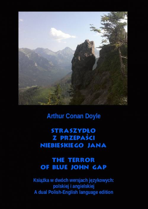 Straszydło z Przepaści Niebieskiego - okładka książki