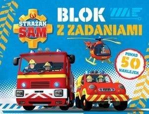 Strażak Sam. Blok z zadaniami - okładka książki