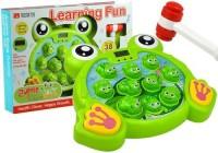 Świecące żabki z młoteczkiem - zdjęcie zabawki, gry