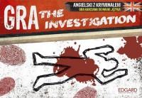 The Investigation. Angielski z kryminałem. Gra karciana do nauki języka - zdjęcie zabawki, gry