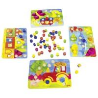 Uzupełnij obrazek klockami - zdjęcie zabawki, gry