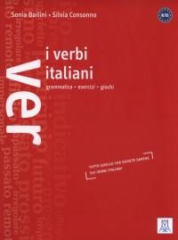 Verbi italiani. Grammatica esercizi giochi - okładka podręcznika