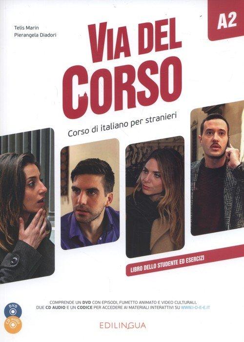 Via del Corso A2 Libro dello studente - okładka podręcznika