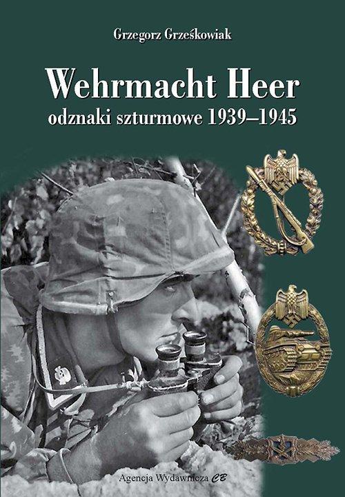 Wehrmacht Heer odznaki szturmowe - okładka książki