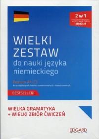 Wielki zestaw do nauki języka niemieckiego. Poziom A1-C1 dla początkujących, średnio zaawansowanych i zaawansowanych - okładka podręcznika