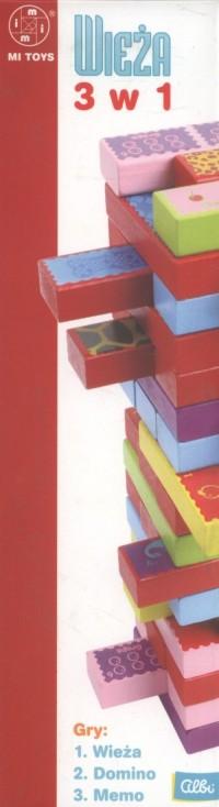 Wieża 3 w 1 - zdjęcie zabawki, gry