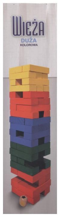 Wieża kolorowa - zdjęcie zabawki, gry