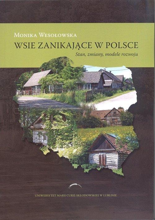 Wsie zanikające w Polsce. Stan, - okładka książki