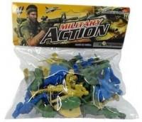 Zestaw figurek wojsko 1 - zdjęcie zabawki, gry