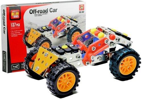 Zestaw konstrukcyjny Samochód terenowy - zdjęcie zabawki, gry