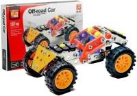 Zestaw konstrukcyjny Samochód terenowy 137 elementów - zdjęcie zabawki, gry