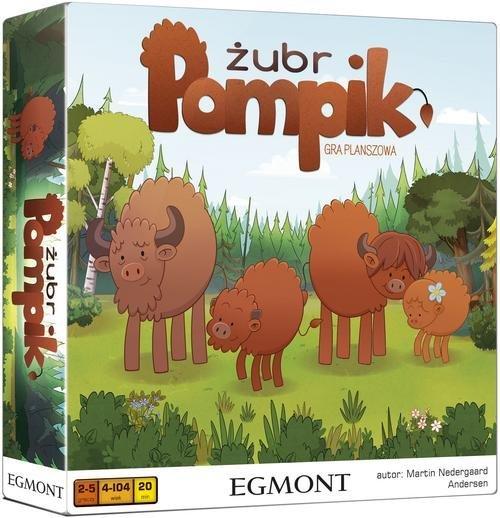 Żubr Pompik - zdjęcie zabawki, gry