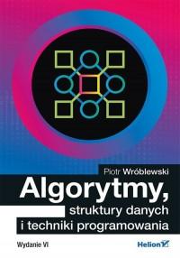Algorytmy struktury danych i techniki programowania - okładka książki
