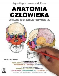 Anatomia człowieka. Atlas do kolorowania - okładka książki