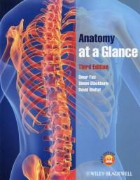 Anatomy at a Glance - okładka książki