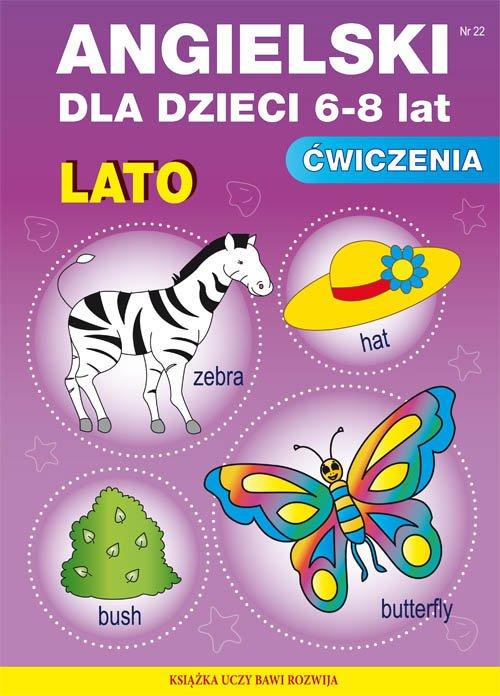 Angielski dla dzieci 6-8 lat. Zeszyt - okładka podręcznika