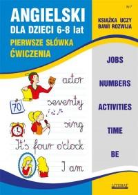 Angielski dla dzieci 6-8 lat. Zeszyt 7 - okładka podręcznika