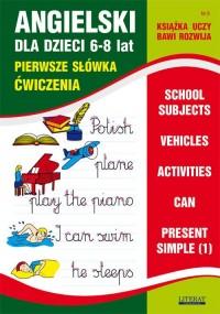 Angielski dla dzieci 6-8 lat. Zeszyt 8 - okładka podręcznika