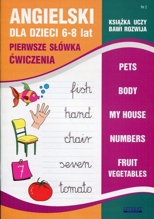 Angielski dla dzieci. Zeszyt 2 - okładka podręcznika