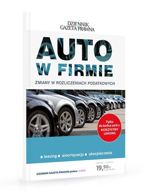 AUTO w firmie. Zmiany w rozliczeniach - okładka książki