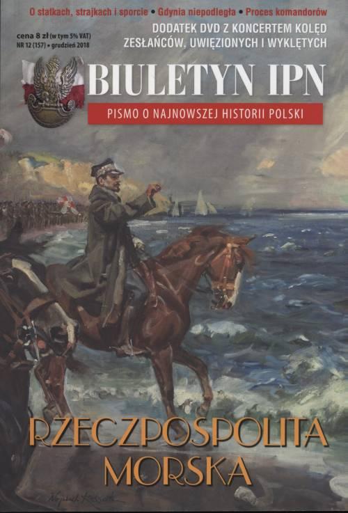 Biuletyn IPN nr 157 (12) / 2018 - okładka książki