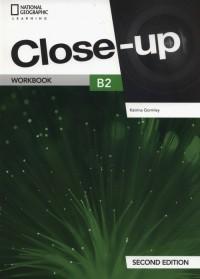 Close-up B2 Workbook - okładka podręcznika