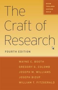 Craft of Research. Fourth Edition - okładka podręcznika
