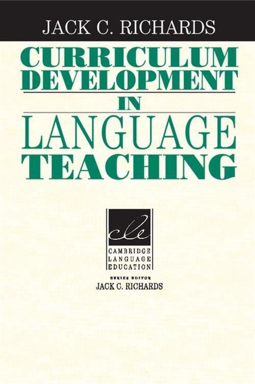 Curriculum Development in Language - okładka podręcznika