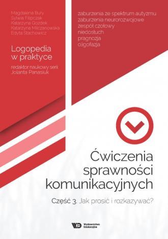 Ćwiczenia sprawności komunikacyjnych - okładka książki