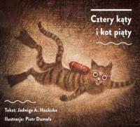 Cztery kąty i kot piąty - okładka książki