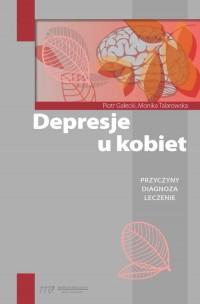 Depresje u kobiet - okładka książki